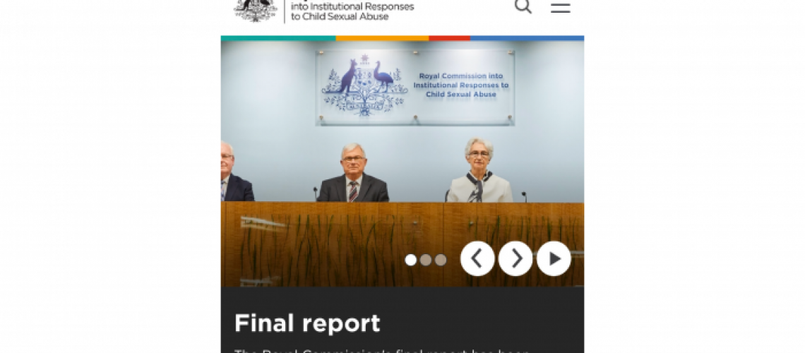 Child Abuse Royal Commission